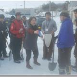 三笠市弥生雪はねツアー